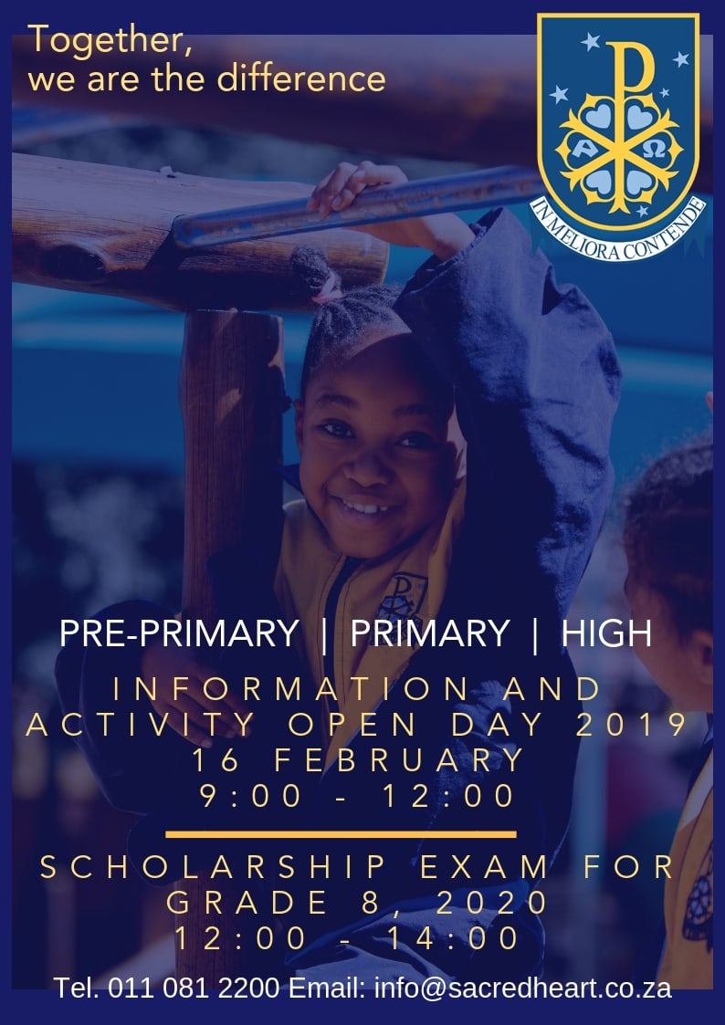 Sacred Heart College Open Day 2019