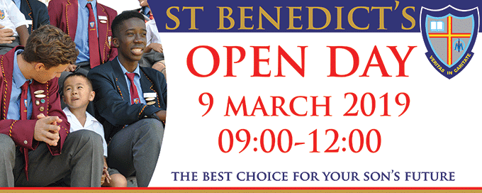 St Benedict's College Open Day 2019