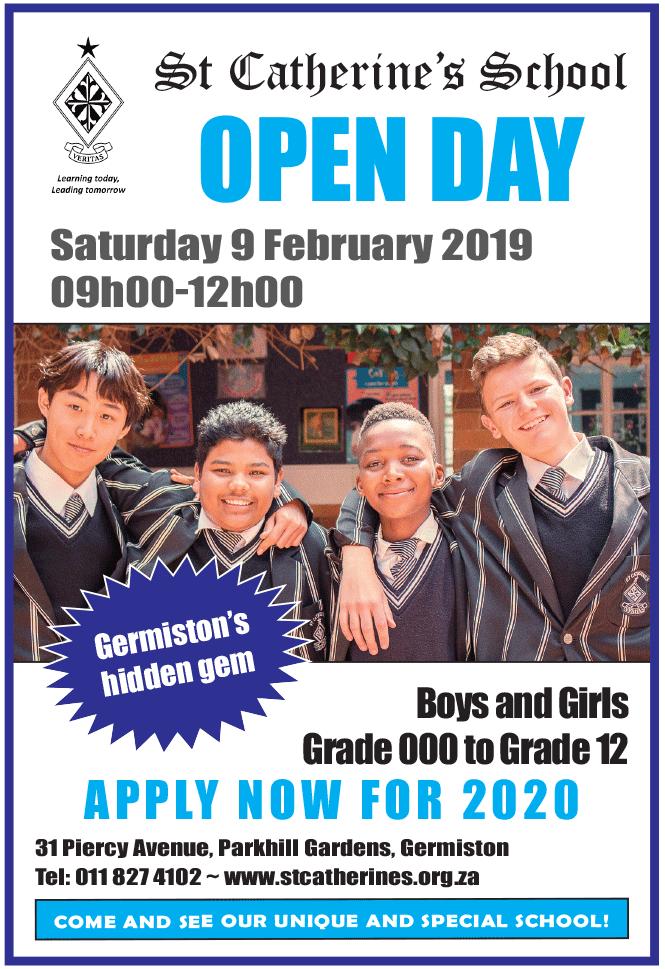 St Catherine's School Open Day 2019