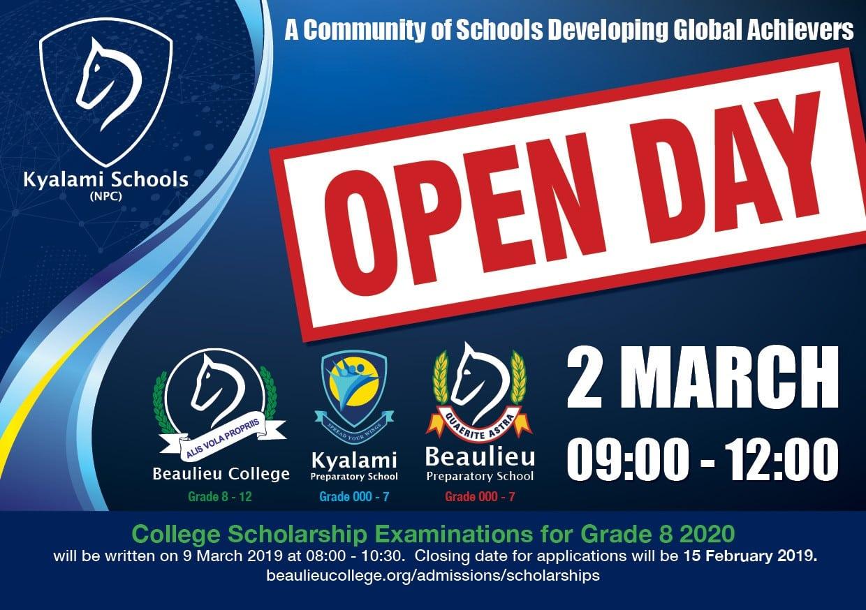 Kyalami Schools Open Day 2019