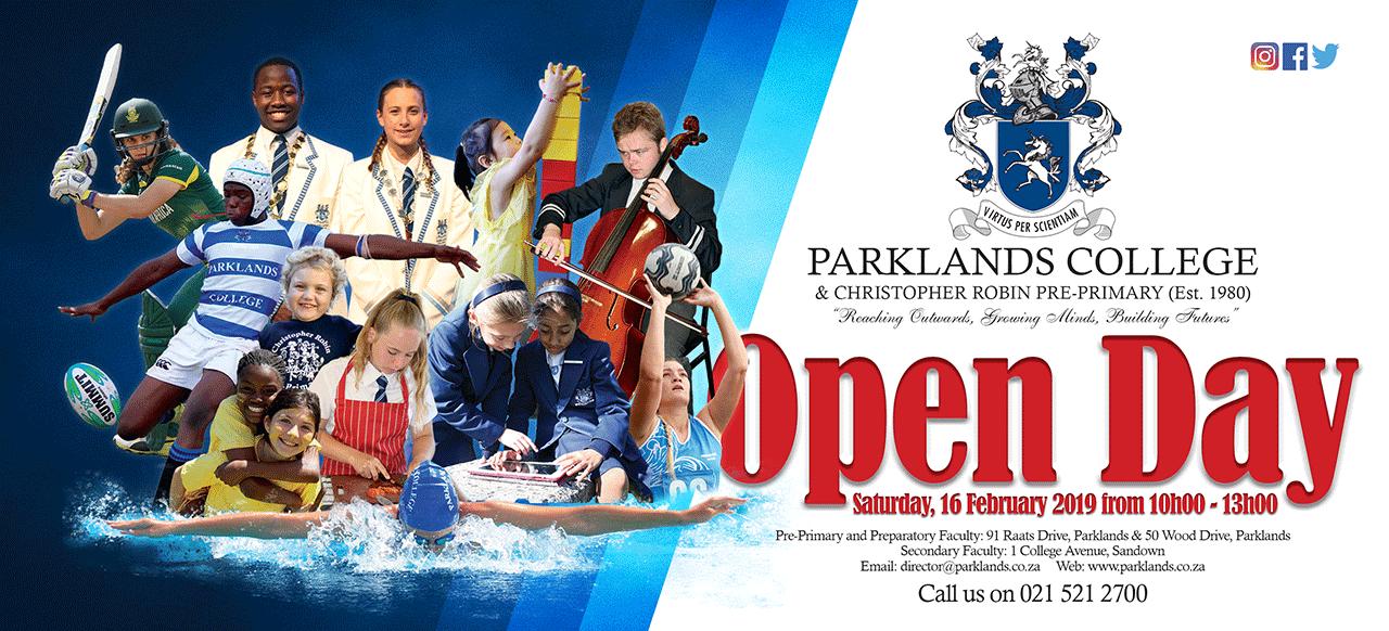 Parklands College Open Day 2019