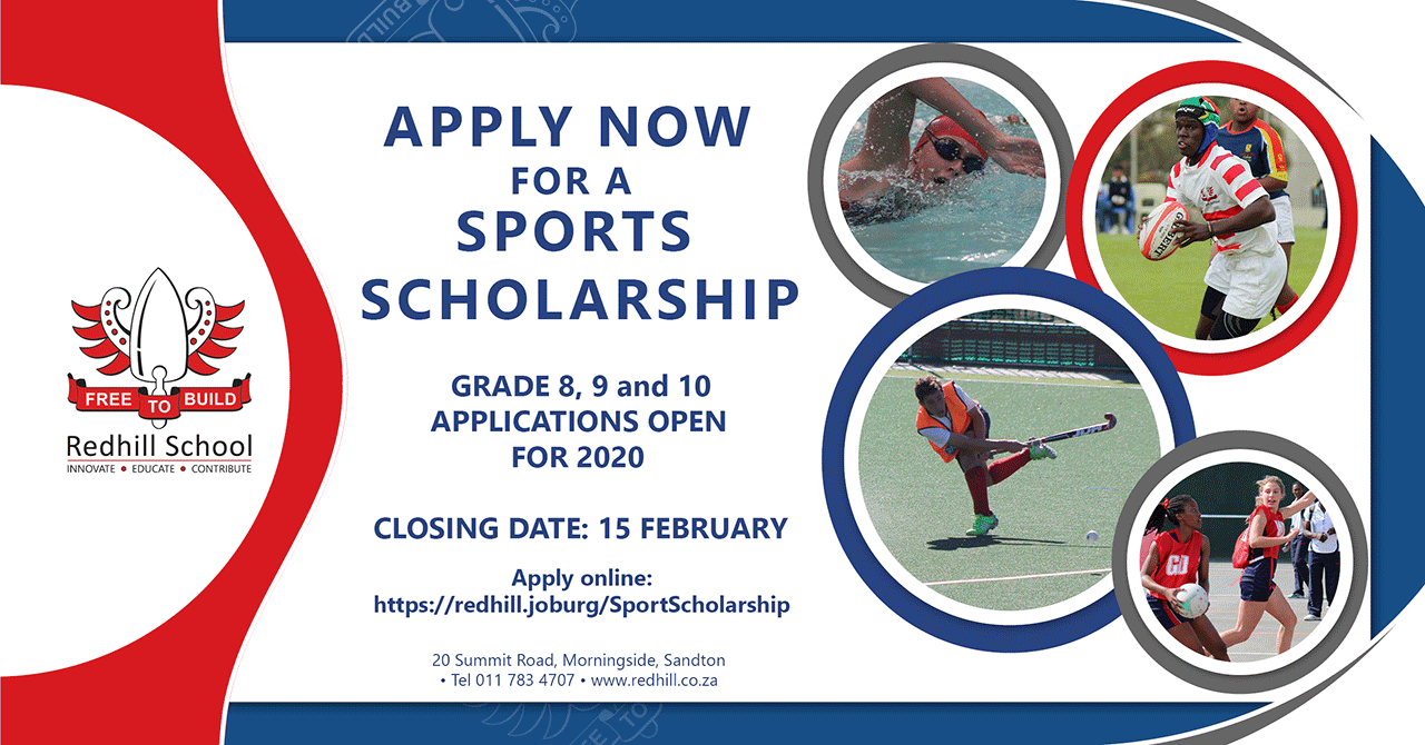 Redhill School Sports Scholarships for 2020