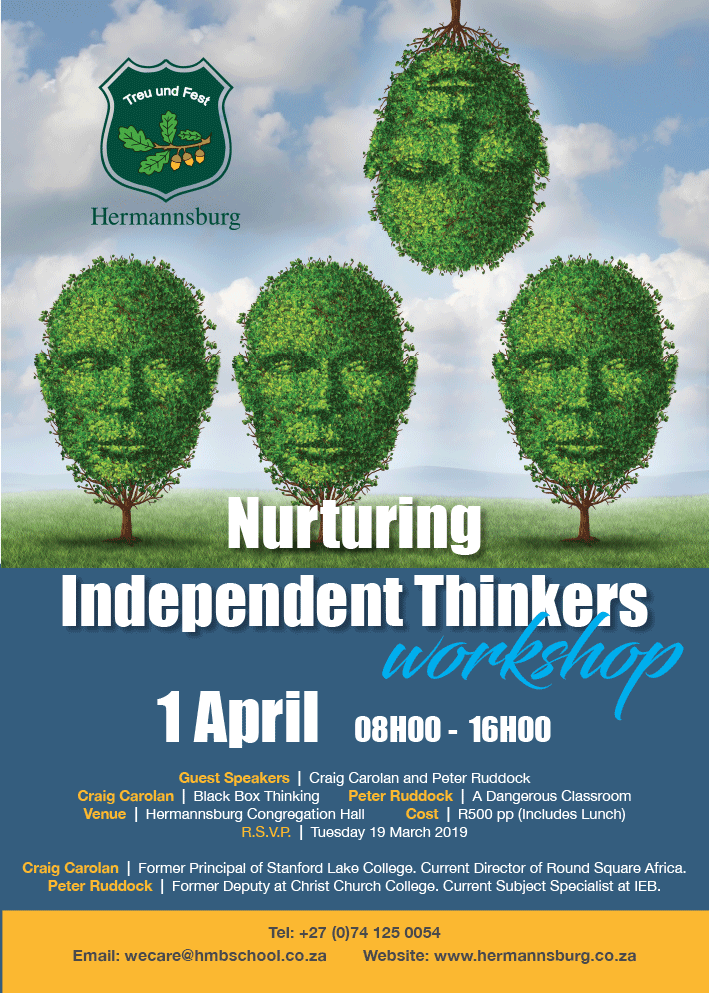 Nurturing Independent Thinkers: A Workshop