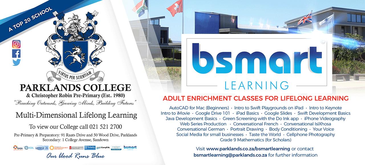 Bsmart Lifelong Learning at Parklands College