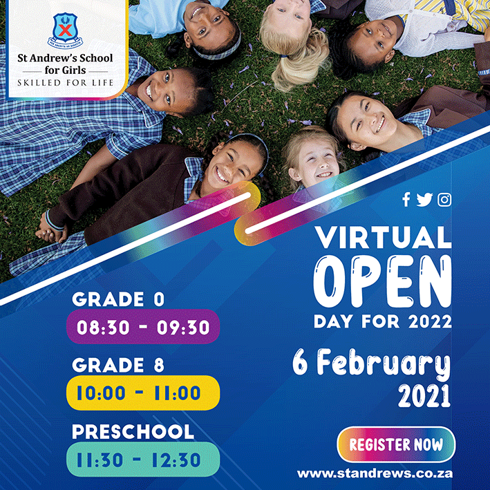 St Andrew's School for Girls Virtual Open Day 2021