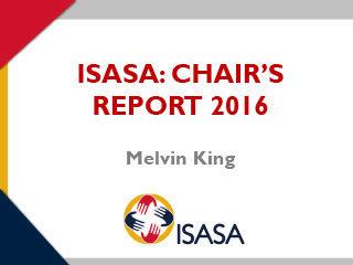 ISASA Chairman